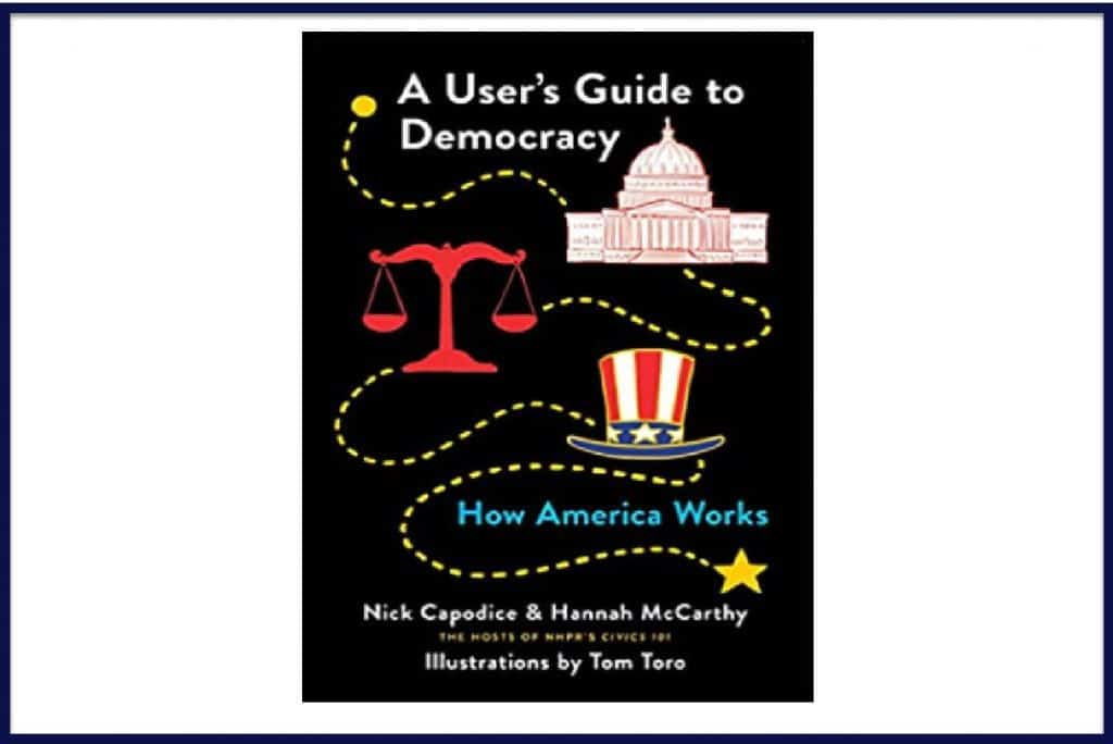 """The book cover of """"A User's Guide to Democracy."""""""